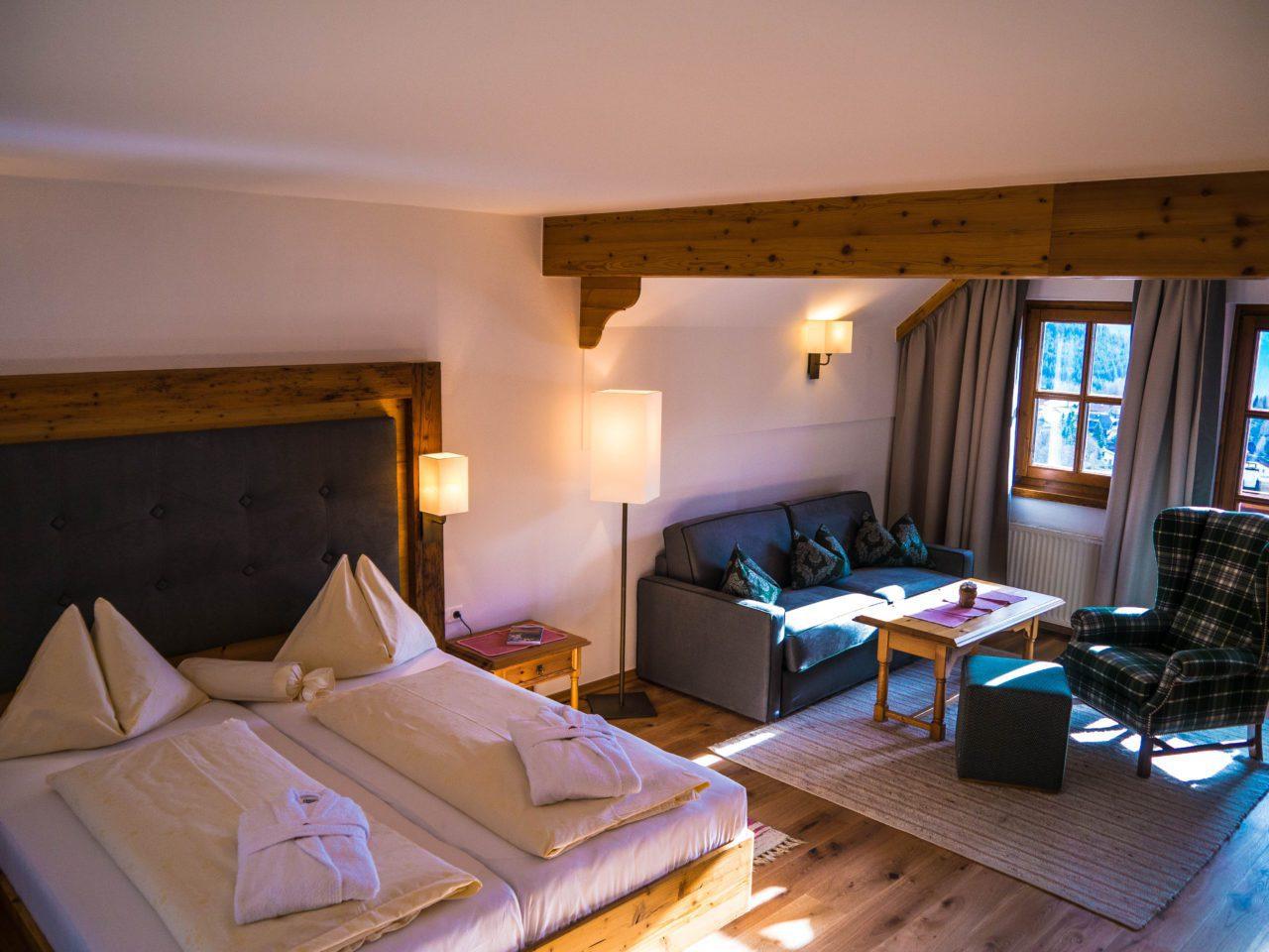 Junior Suite Hotel Hinteregger Kärnten Bad Kleinkirchheim Urlaub