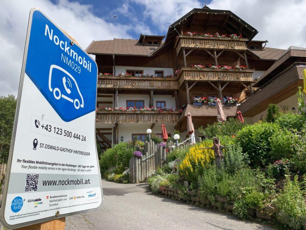 Nockmobil Familienhotel Gasthof Hinteregger