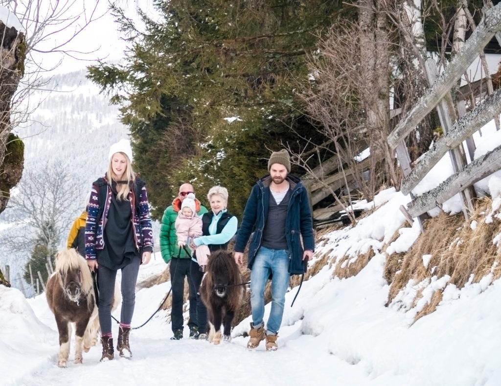 Ponywanderung Bad Kleinkirchheim